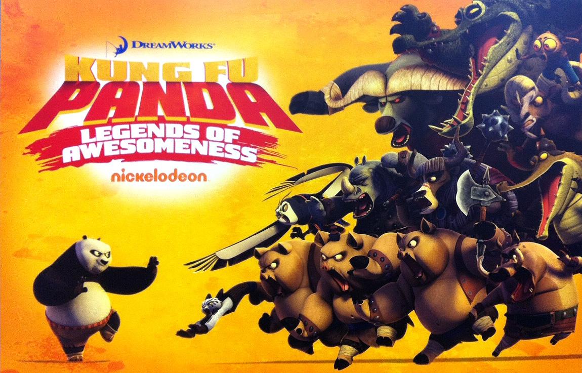 Kung Fu Panda Legends of Awesomeness (2011) – Only Telugu